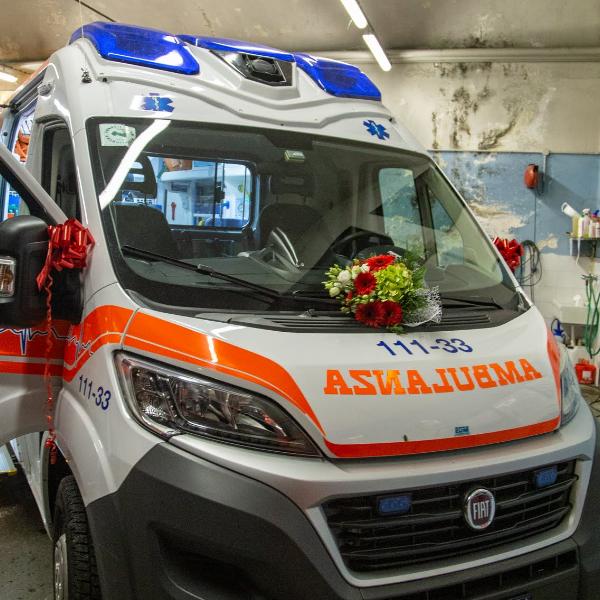 Inaugurazione Ambulanza 111-33
