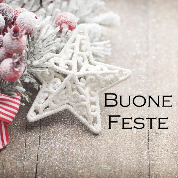 Buone Natale e Felice 2019!