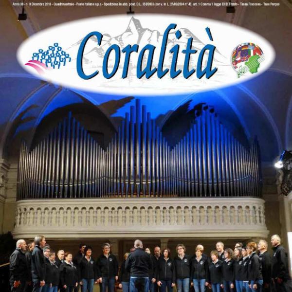 Coralità n. 3 - anno 2018