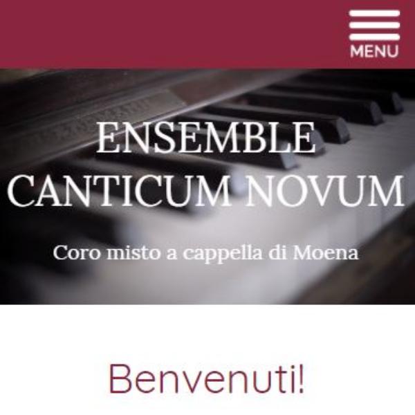 Nuovo sito Ensemble Canticum Novum